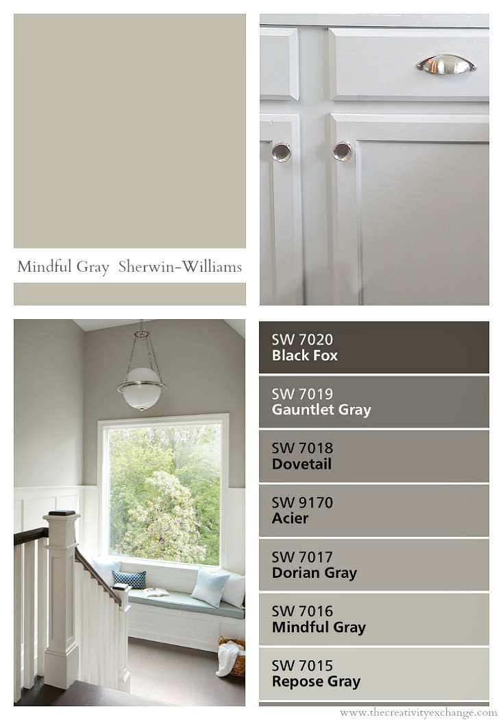 Best ideas about Sherwin Williams Paint Colors Gray . Save or Pin Sherwin Williams Mindful Gray Color Spotlight Now.