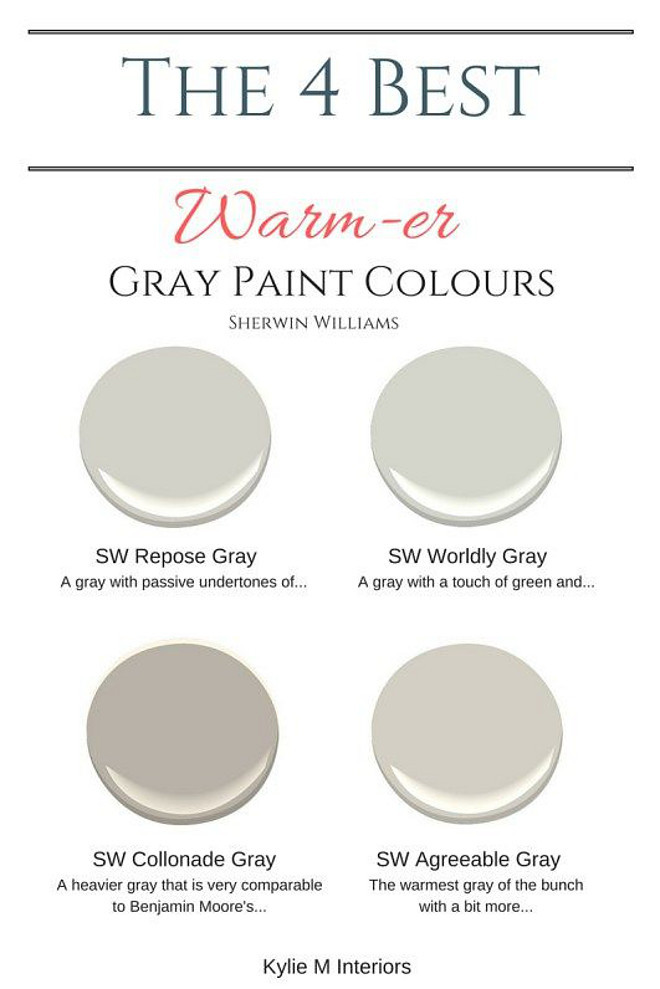 Best ideas about Sherwin Williams Paint Colors Gray . Save or Pin Farmhouse Interior Design Ideas Home Bunch Interior Now.