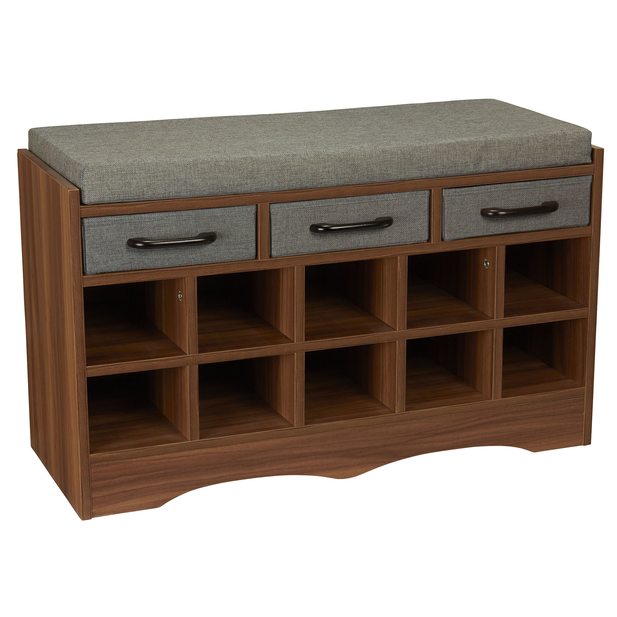 Best ideas about Shoe Benches Entryway . Save or Pin Narrow Shoe Storage Bench Now.