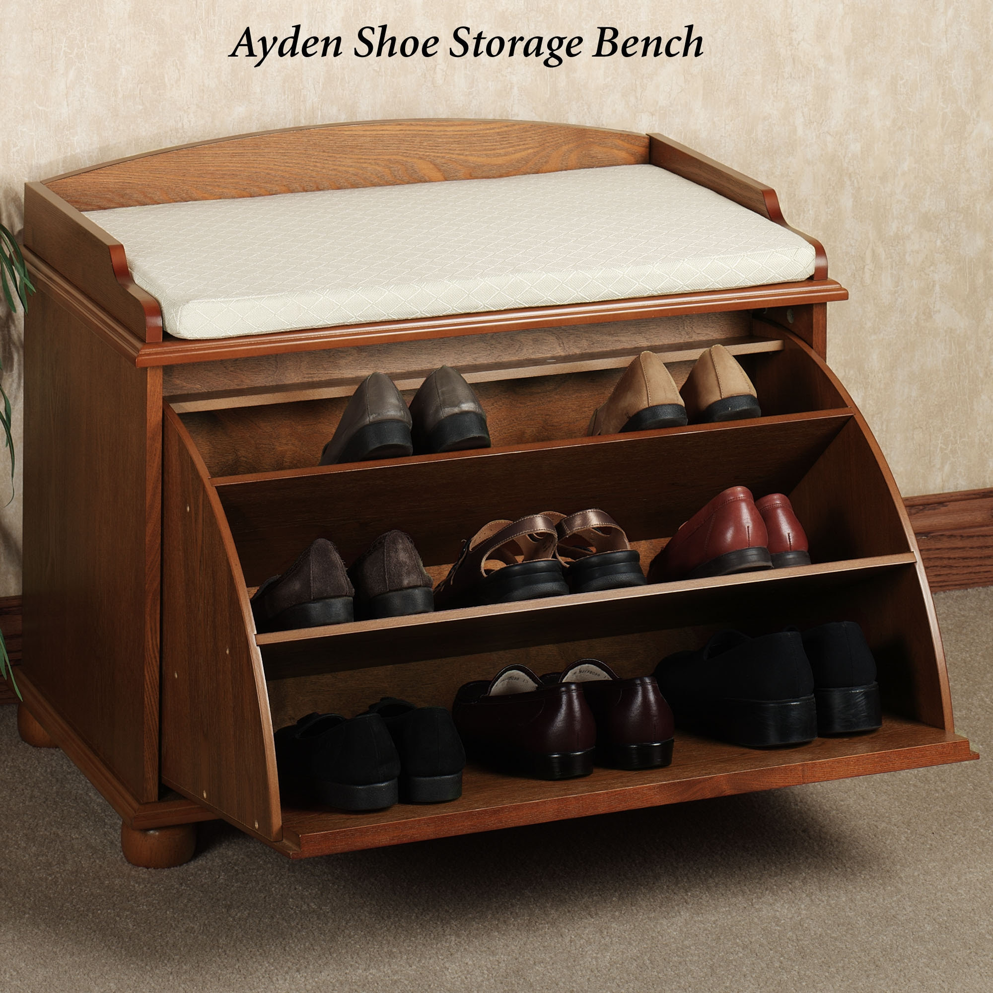 Best ideas about Shoe Benches Entryway . Save or Pin Bench Shoe Storage Plans Now.