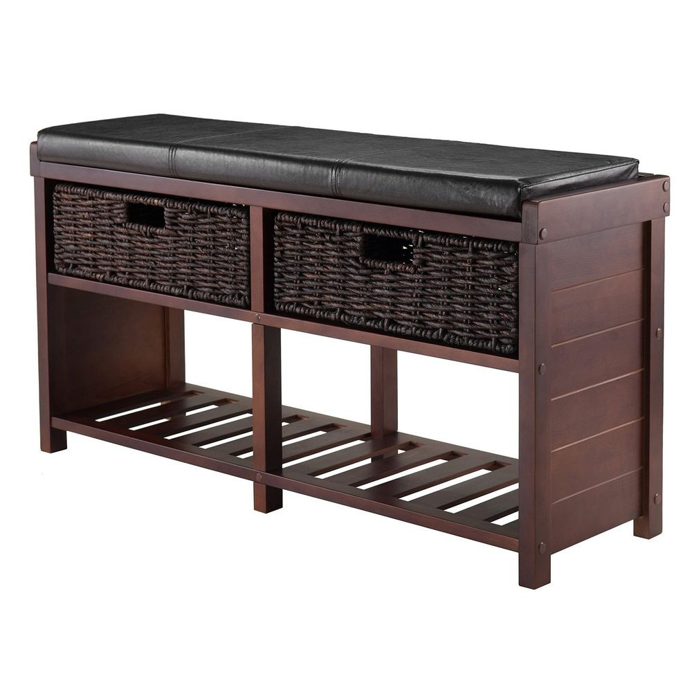 Best ideas about Shoe Benches Entryway . Save or Pin Entryway Shoe Storage Bench Colin Cushion Bench Storage Now.