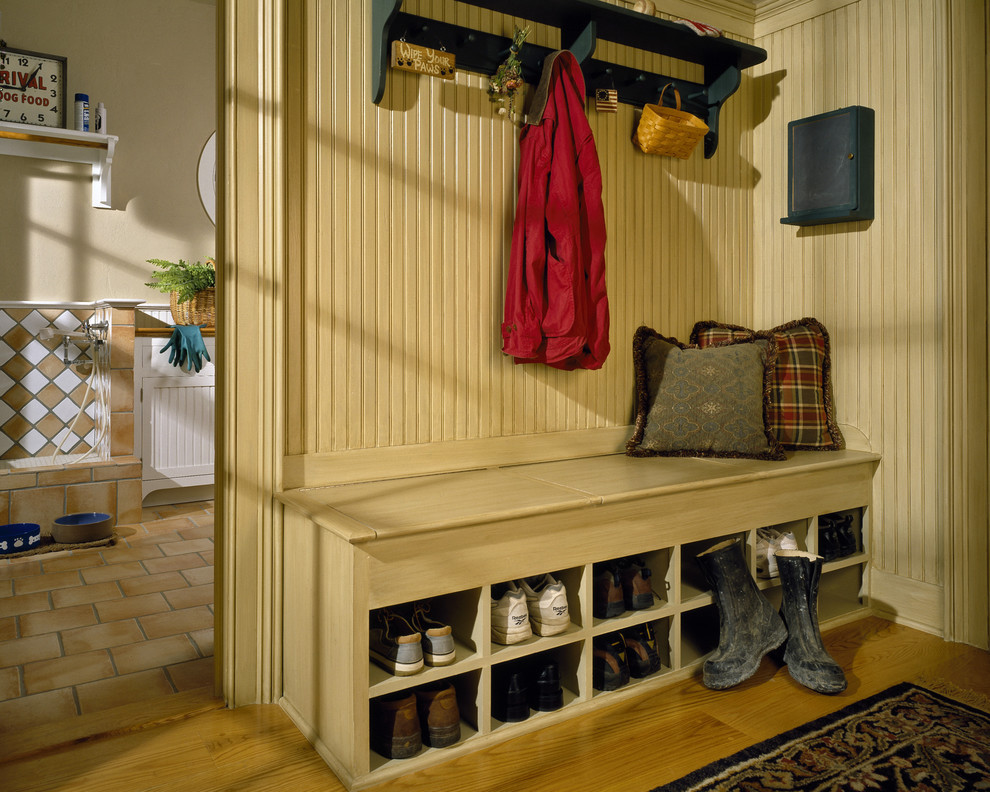 Best ideas about Shoe Benches Entryway . Save or Pin shoe bench storage Kitchen Eclectic with none Now.