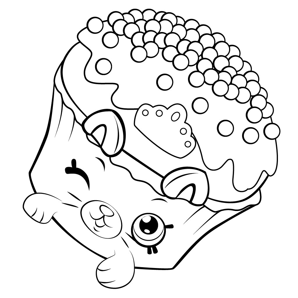 Shopkins Free Printable Coloring Pages  Shopkins Coloring Pages Best Coloring Pages For Kids