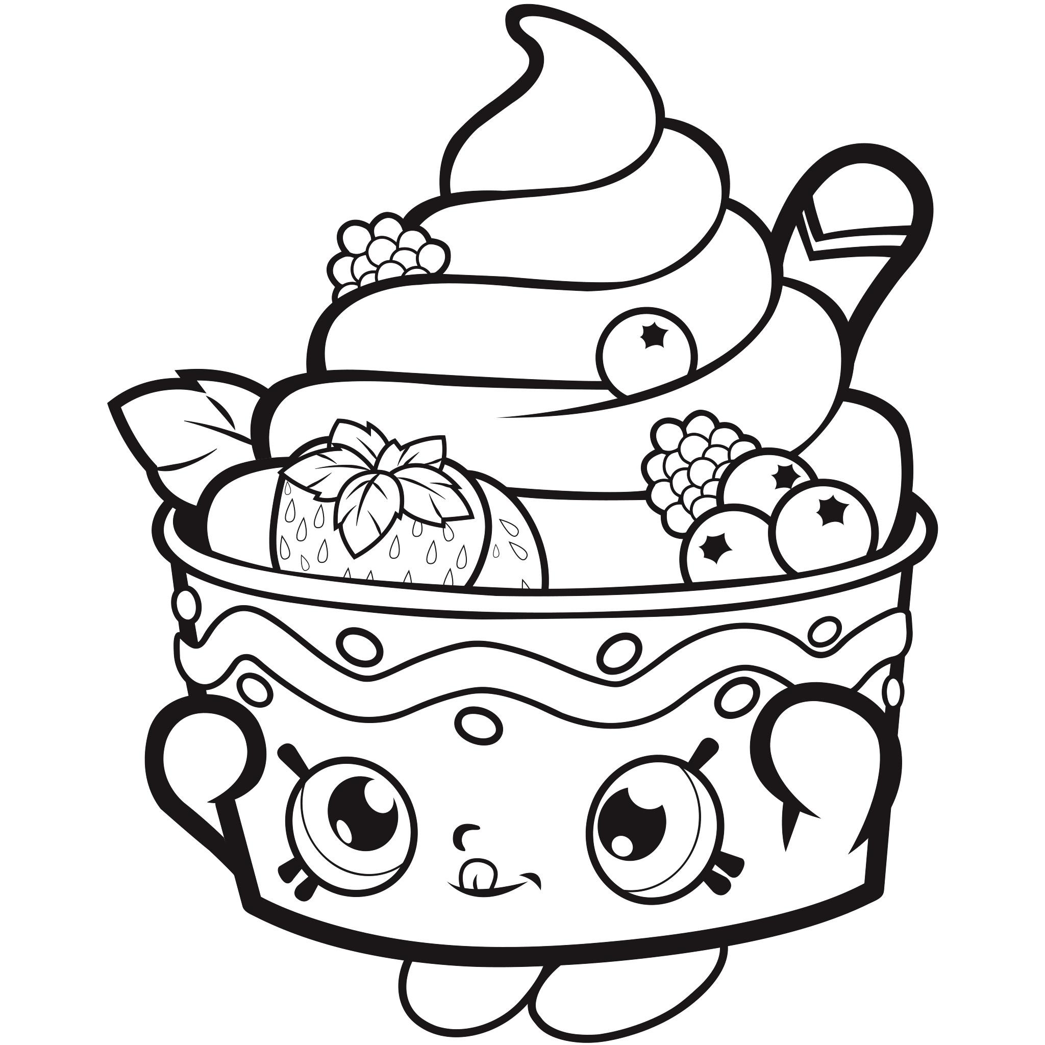 Shopkins Printable Coloring Sheets  Shopkins Coloring Pages Best Coloring Pages For Kids