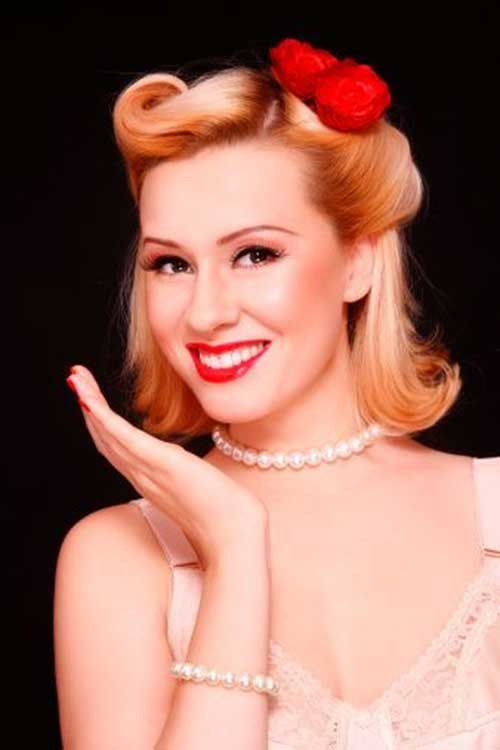 Best ideas about Short 50S Hairstyles . Save or Pin 50s Short Hair Now.