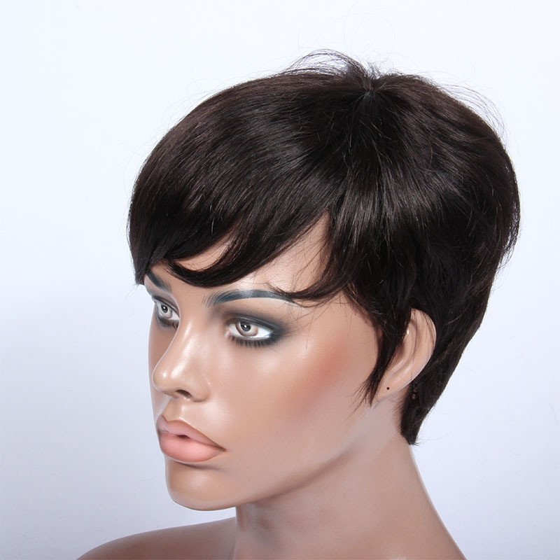 Short Black Hairstyle Wigs  Short Black Hair Wig Wigs By Unique