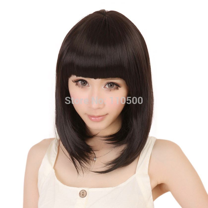 Short Black Hairstyle Wigs  Popular Black Short Wig Buy Cheap Black Short Wig lots