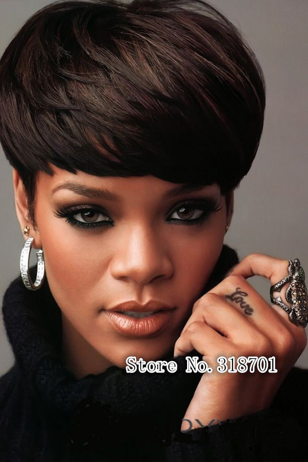 Short Black Hairstyle Wigs  Short Wigs for Black Women Pixie Cut Wig for Women Short