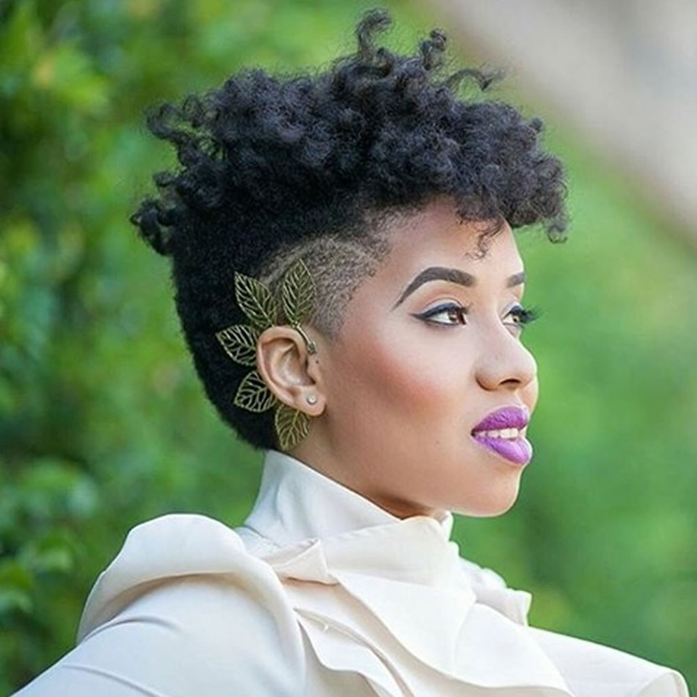 Short Black Hairstyles For 2019  Undercut Short Hairstyles for Black Women & Which e