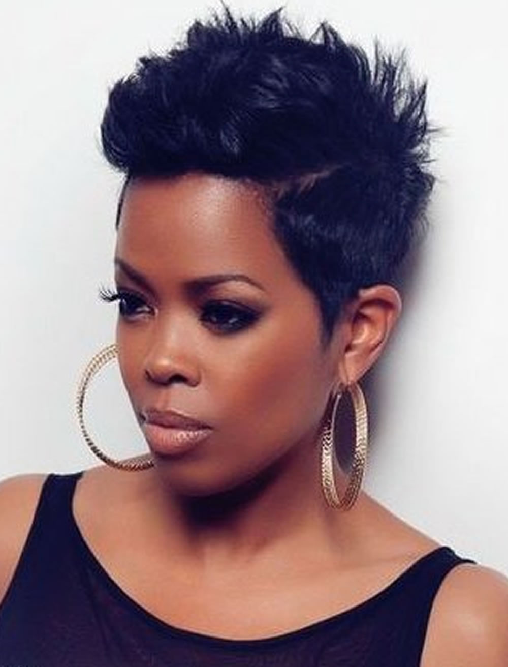 Short Black Hairstyles For 2019  Pixie Short Hairstyles for Black Women 2018 2019 – Page 2