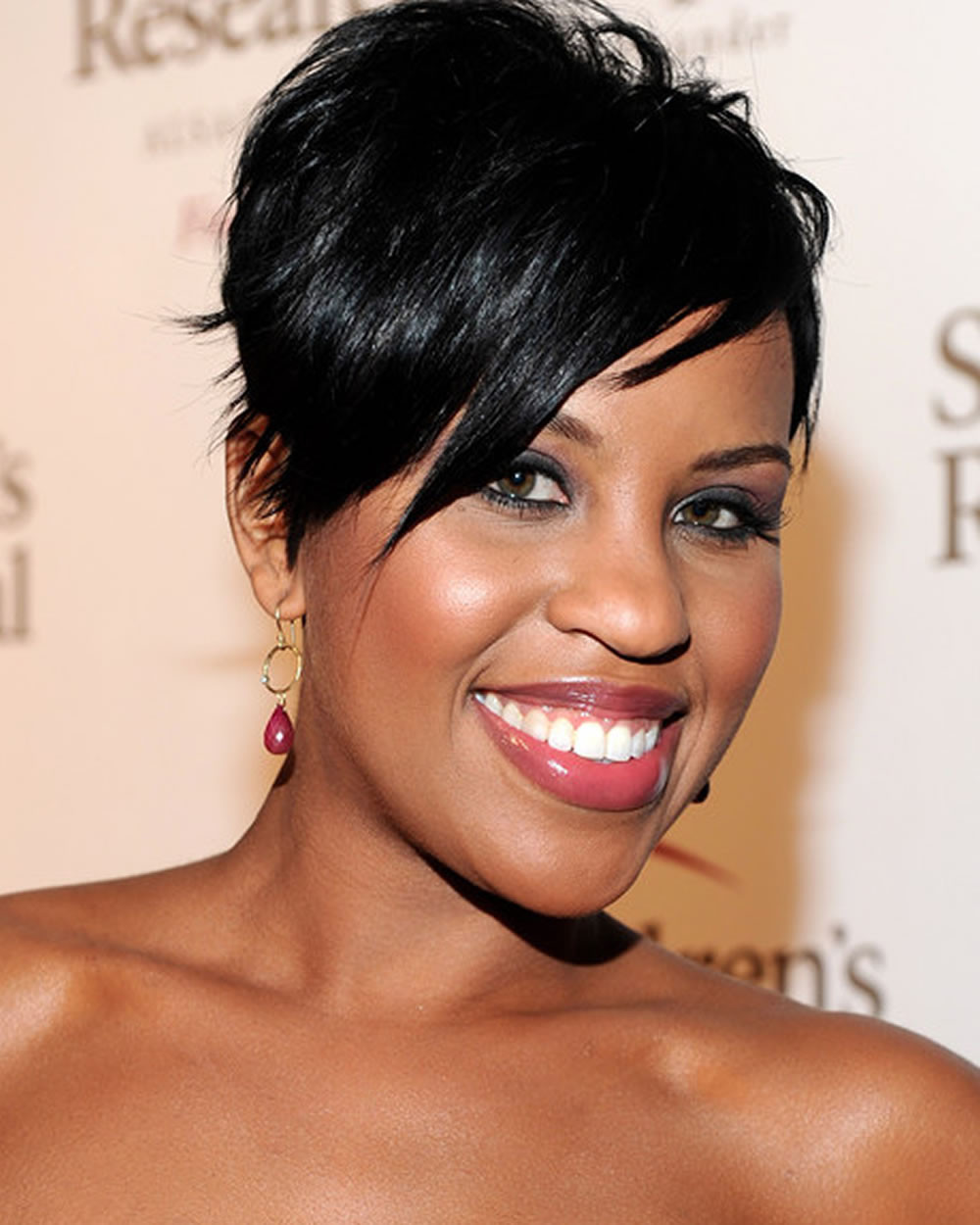 Short Black Hairstyles For 2019  Feminine Pixie Hairstyles For Black La s 2018 2019 Afro