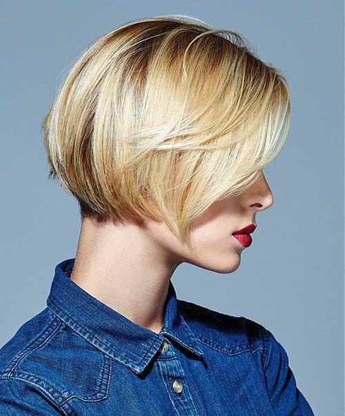 Short Bob Hairstyle  25 Short Blonde Hairstyles 2015 2016