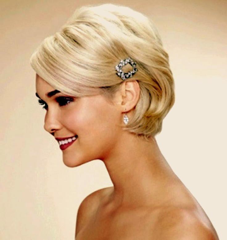 Short Bridesmaid Hairstyles  15 Beautiful Wedding Hair Ideas