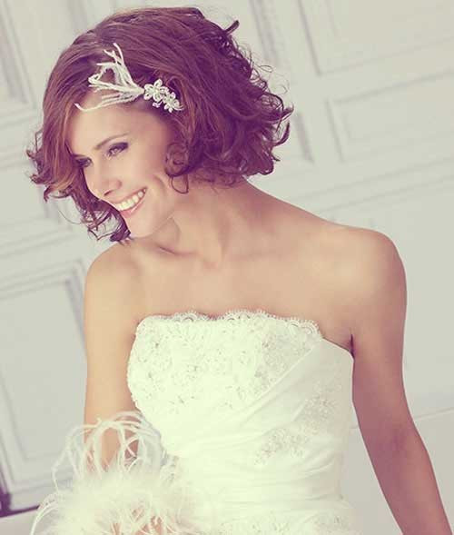 Short Bridesmaid Hairstyles  20 New Wedding Styles for Short Hair