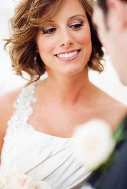 Short Bridesmaid Hairstyles  30 Wedding Hair Styles for Short Hair