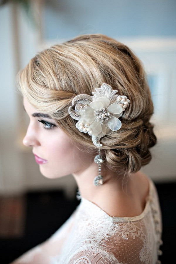 Short Bridesmaids Hairstyles  Wedding Hairstyles for Short Hair Romantic and Stylish