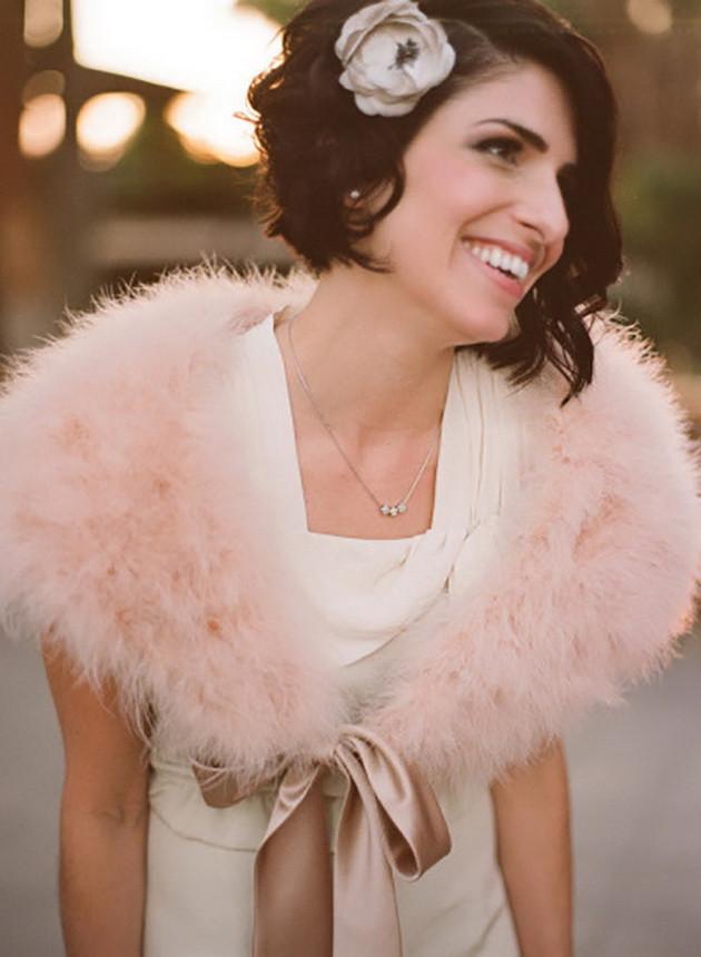 Short Bridesmaids Hairstyles  20 Creative Short Wedding Hairstyles for Brides