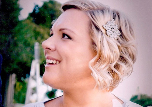 Short Bridesmaids Hairstyles  35 Adorable Wedding Hairstyles For Short Hair