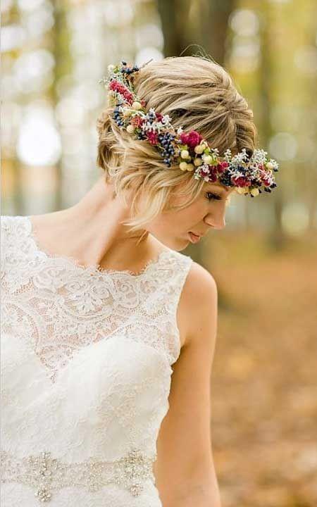 Short Bridesmaids Hairstyles  59 Stunning Wedding Hairstyles for Short Hair 2017