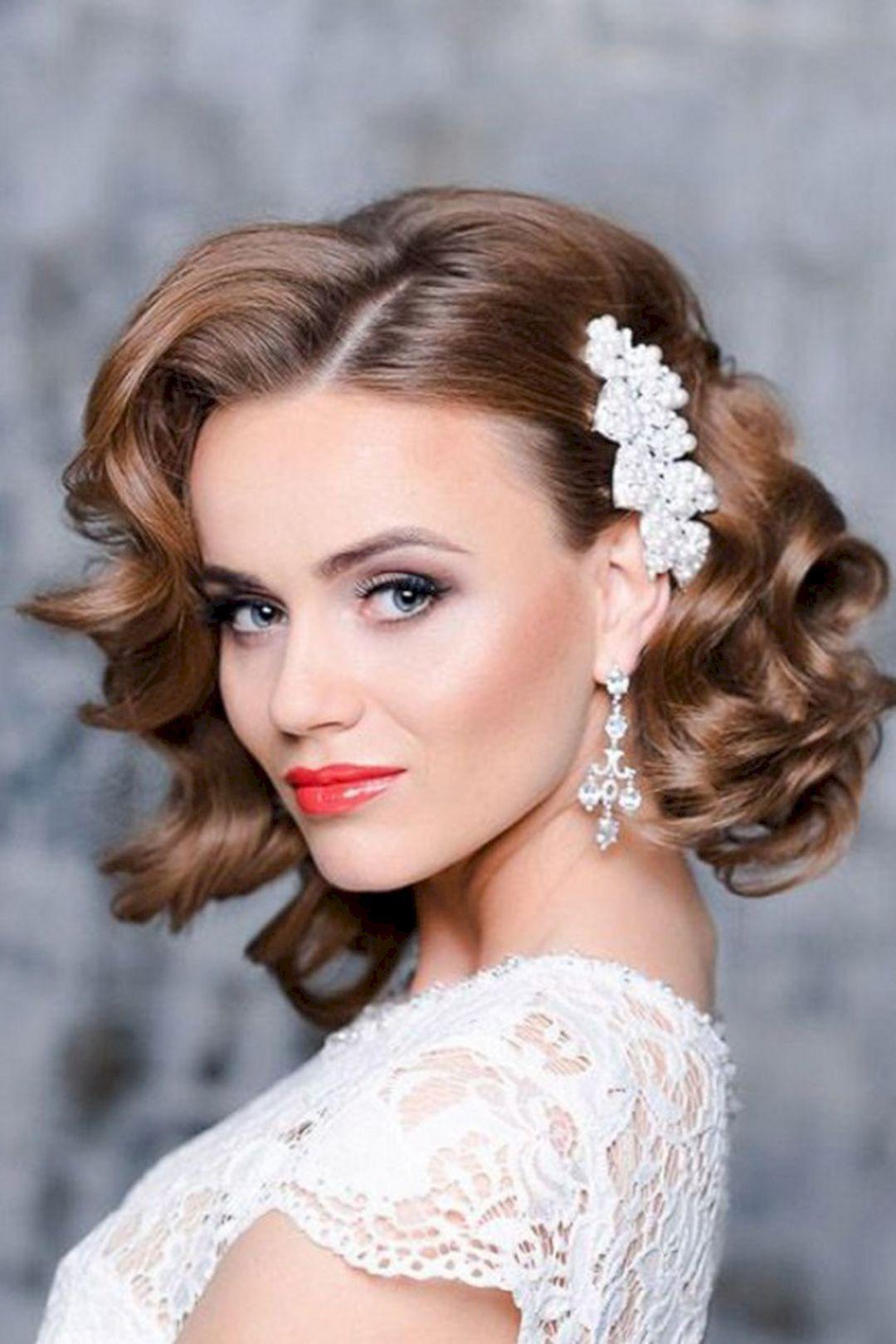 Short Bridesmaids Hairstyles  Bridesmaid Hairstyle Short Hair – OOSILE