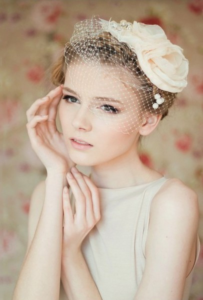 Short Bridesmaids Hairstyles  23 Perfect Short Hairstyles for Weddings Bride Hairstyle