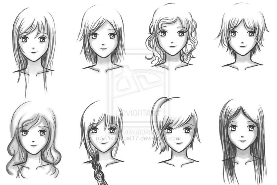 Best ideas about Short Female Anime Hairstyles . Save or Pin Anime Girl Hairstyles Pixie Dust Now.