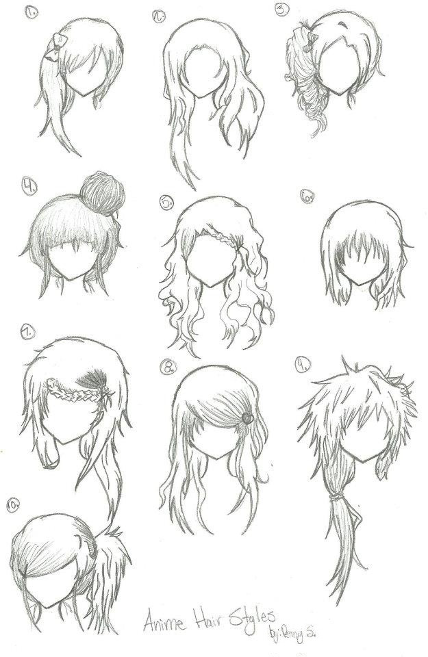 Best ideas about Short Female Anime Hairstyles . Save or Pin Anime Hair Styles by animebleach14 on DeviantArt Now.