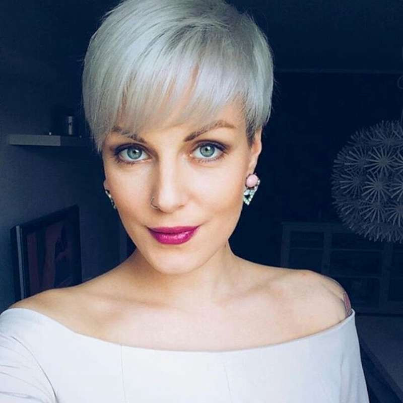 Best ideas about Short Gray Hairstyles . Save or Pin 16 Gray Short Hairstyles and Haircuts For Women 2017 Now.