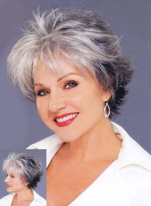Best ideas about Short Gray Hairstyles . Save or Pin 60 Gorgeous Hairstyles for Gray Hair Now.