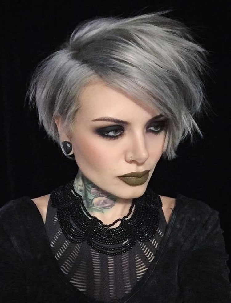 Best ideas about Short Gray Hairstyles . Save or Pin The 32 Coolest Gray Hairstyles for Every Lenght and Age Now.
