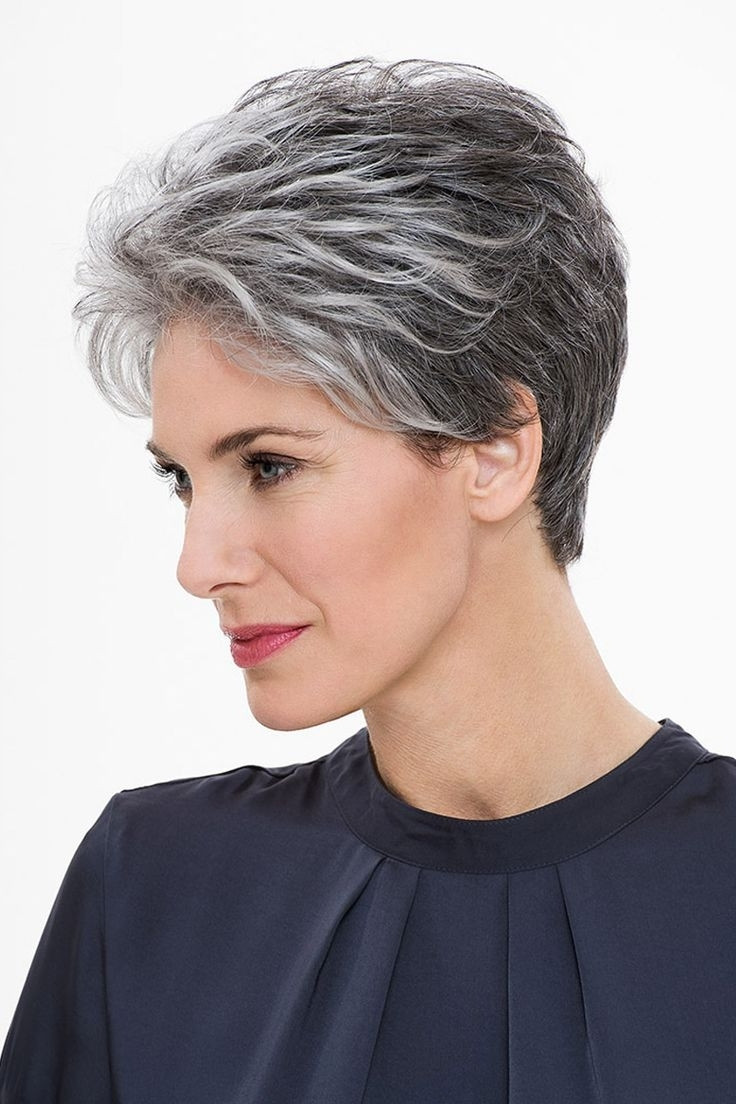 Best ideas about Short Gray Hairstyles . Save or Pin Hairstyles Short Grey Hair Now.