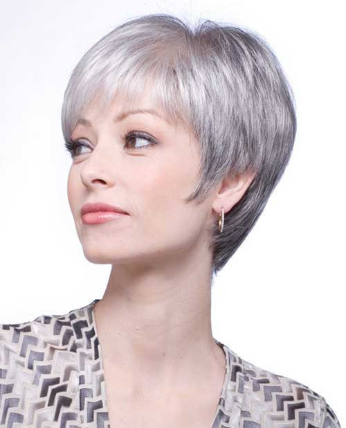 Best ideas about Short Gray Hairstyles . Save or Pin 14 Short Hairstyles For Gray Hair Now.