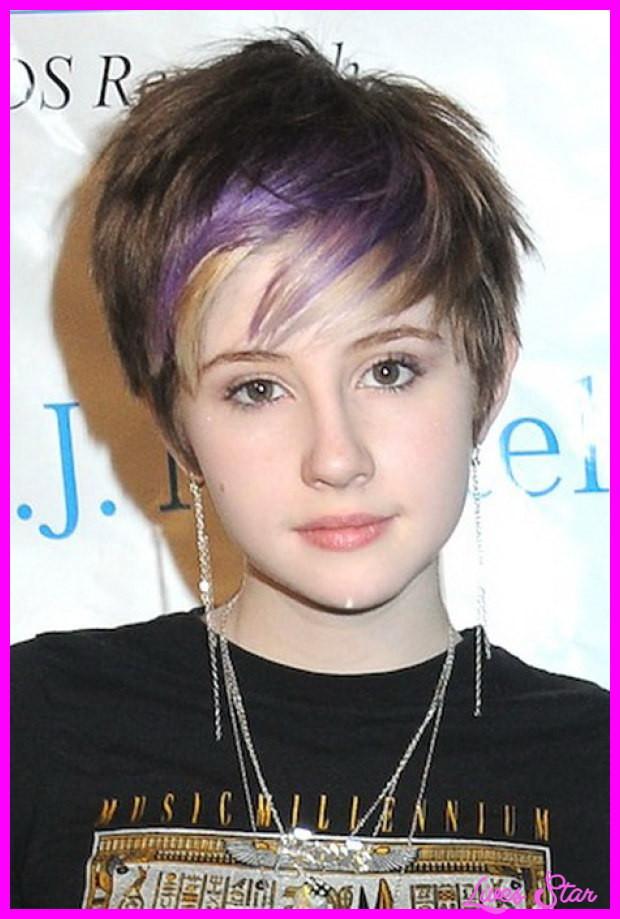 Short Haircuts For Teenagers  Short haircuts for black teenage girls LivesStar