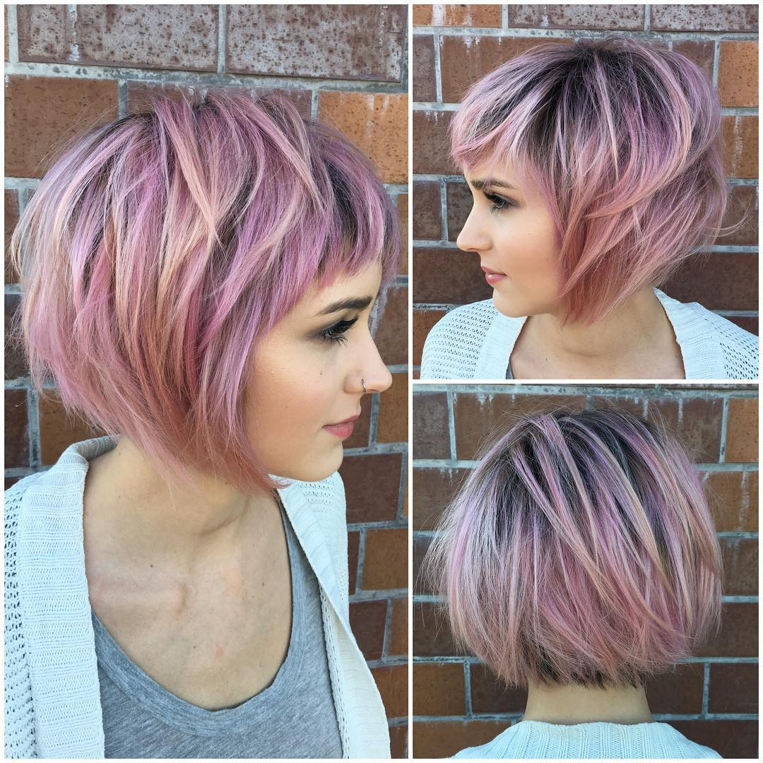 Short Haircuts For Women With Fine Hair  40 Best Short Hairstyles for Fine Hair 2019
