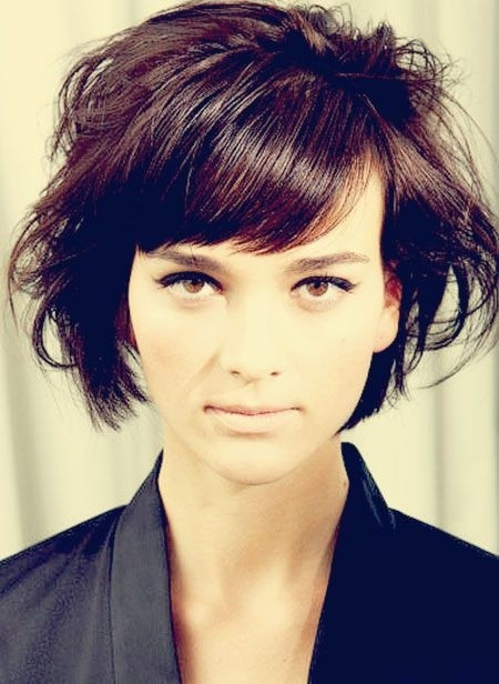Short Haircuts With Side Bangs  32 Fantastic Bob Haircuts for Women 2015 Pretty Designs