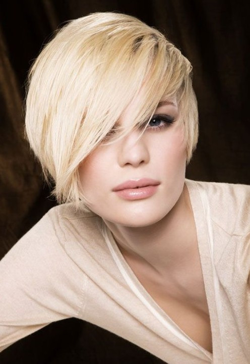 Short Haircuts With Side Bangs  10 Straight Hairstyles for Short Hair Short Haircuts for