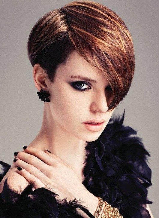 Short Haircuts With Side Bangs  36 Trendy Short Hairstyles for Women Hairstyles Weekly