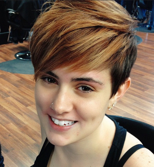 Short Haircuts With Side Bangs  30 Hottest Simple and Easy Short Hairstyles PoPular Haircuts