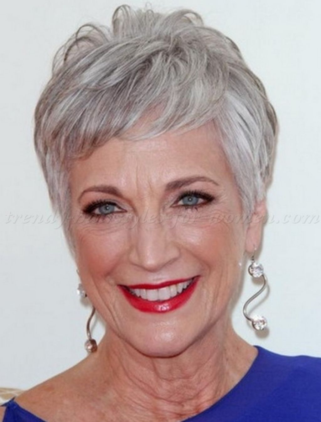 Best ideas about Short Hairstyles For Fine Straight Hair Over 60 . Save or Pin Short Grey Hairstyles Over 60 Now.