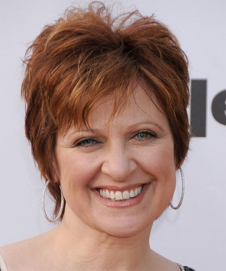 Short Hairstyles For Round Faces Over 50  Short hairstyles for round faces older women