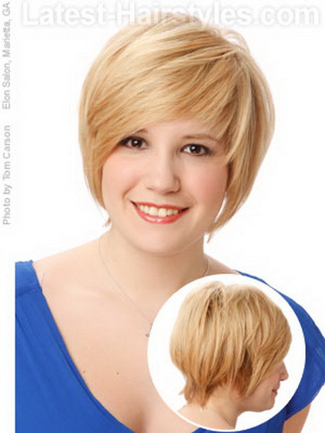 Short Hairstyles For Round Faces Over 50  Short hairstyles for women over 50 with round faces