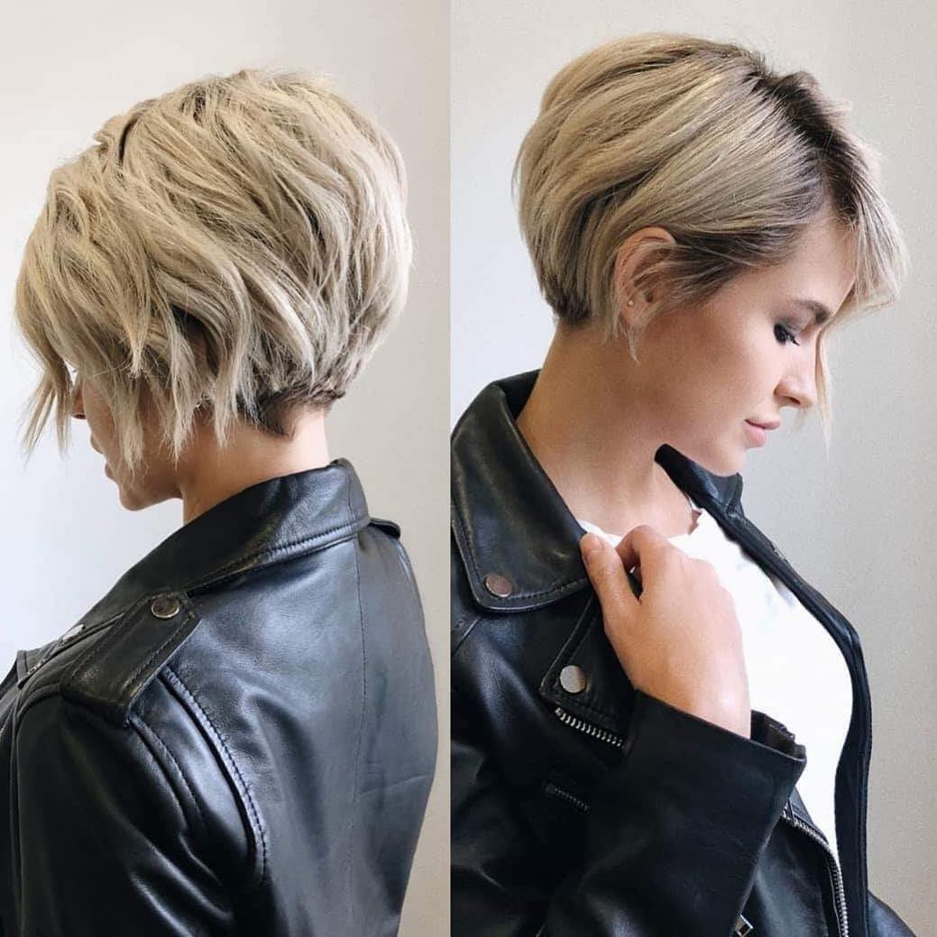 Short Hairstyles For Thick Hair 2019  Stylish Short Hairstyles for Thick Hair Women Short