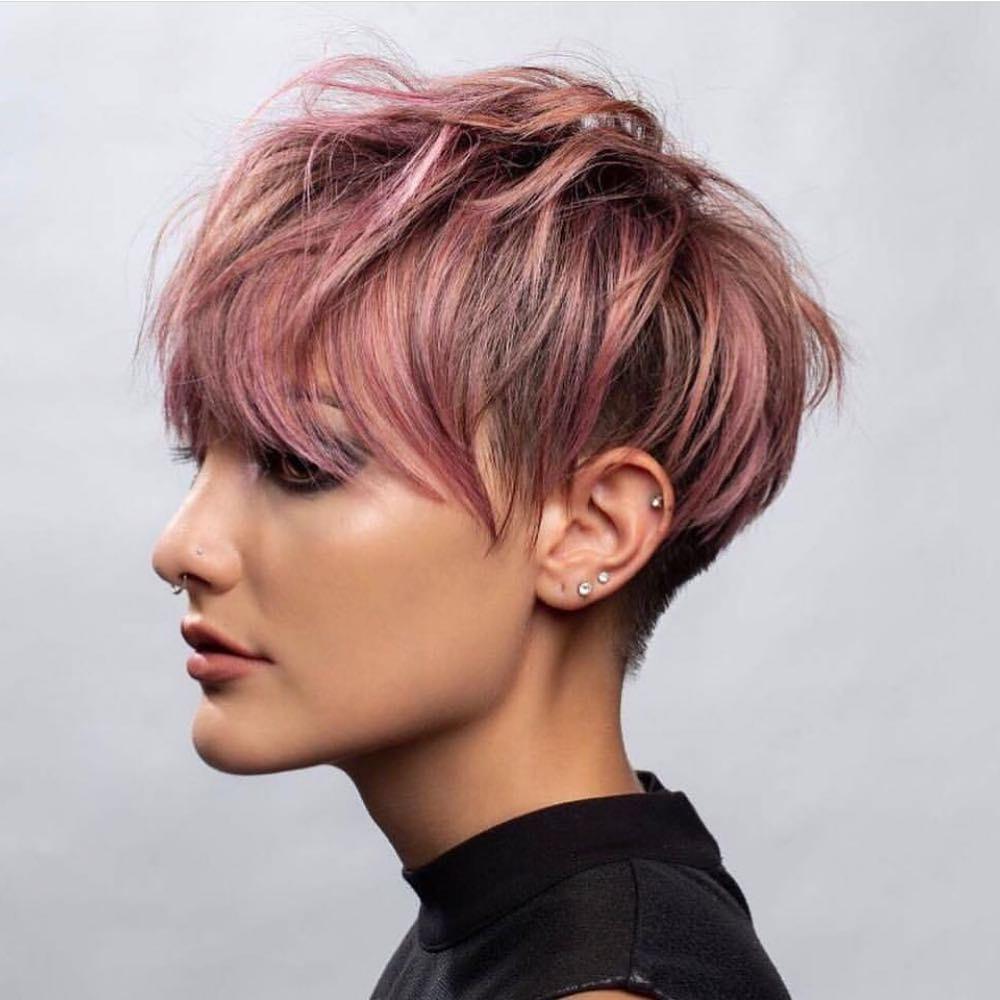 Short Hairstyles For Thick Hair 2019  Stilvolle kurze Frisuren für dickes Haar kurze Frisur