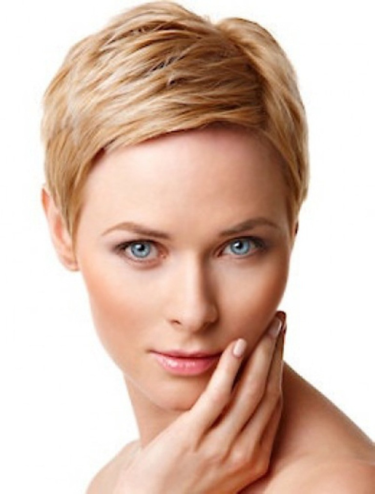 Best ideas about Short Hairstyles For Women With Fine Hair . Save or Pin 2014 Short Hair Trends for Round Faces Now.