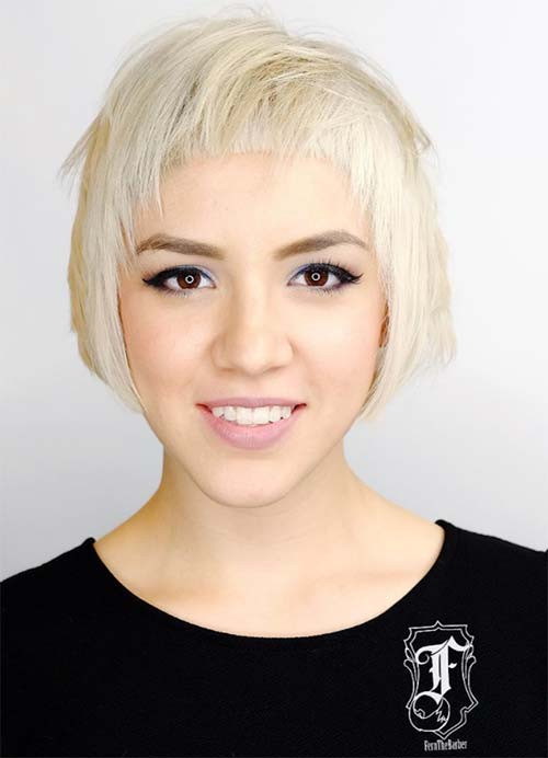 Best ideas about Short Hairstyles For Women With Fine Hair . Save or Pin 55 Short Hairstyles for Women with Thin Hair Now.