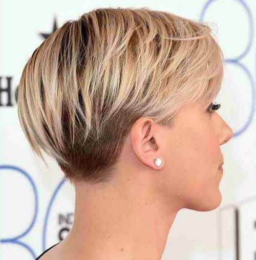 Short Hairstyles Front And Back View 2019  Capelli corti biondi 2016 tante idee da cui prendere spunto