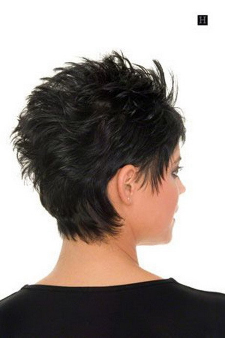 Short Hairstyles Front And Back View 2019  Short haircuts front and back view