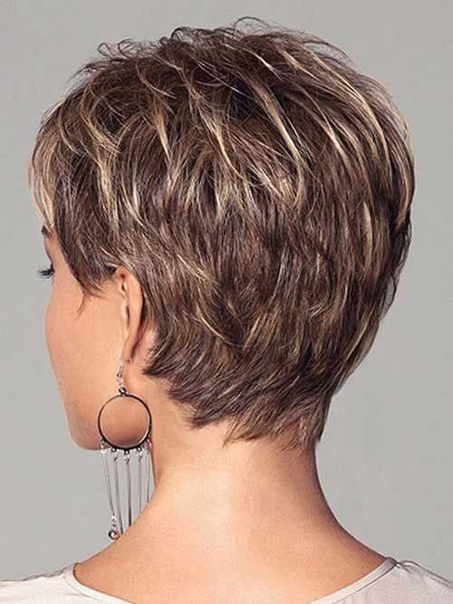 Short Hairstyles Front And Back View 2019  Stylish Short Hairstyle Ideas with Highlights