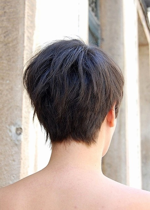 Short Hairstyles Front And Back View 2019  Hairstyle Excellent Short Hairstyles Back View Tahun