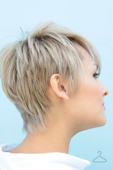 Short Hairstyles Front And Back View 2019  Pixie Hair Cuts Front And Back View